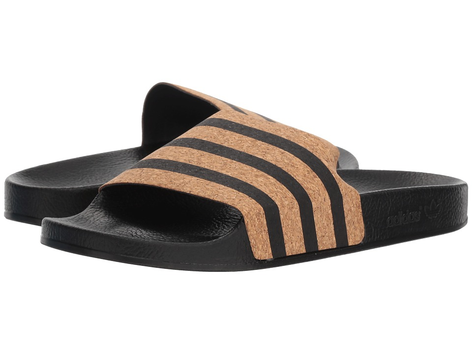 adidas adilette (Core Black/Core Black/Supplier Colour) Slides