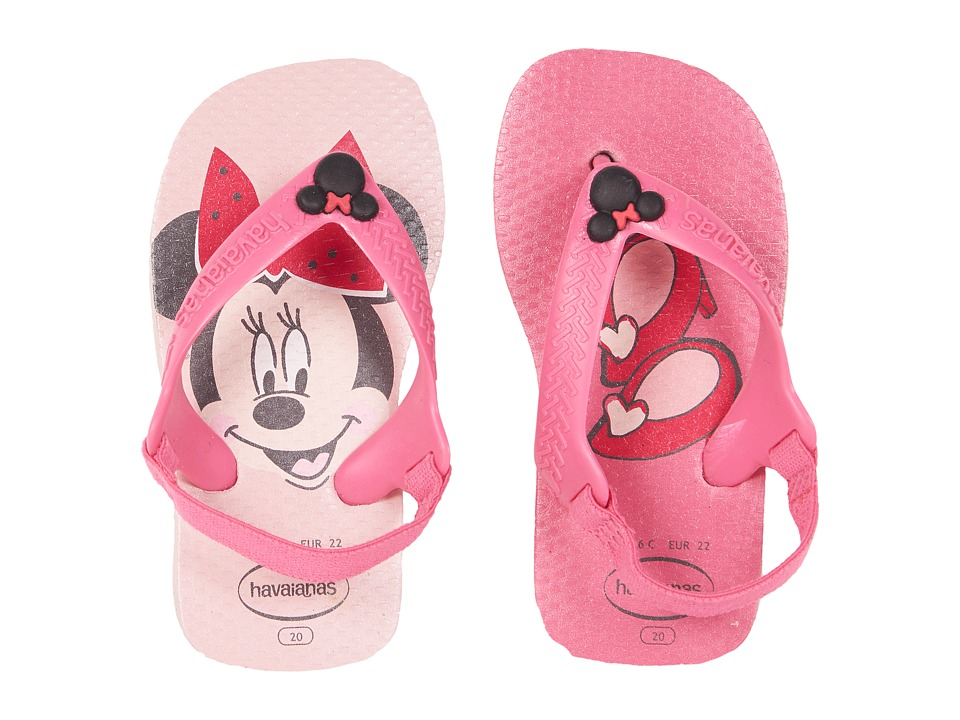 Havaianas Kids - Baby Disney Classics Flip-Flop (Toddler) (Pearl Pink) Girls Shoes