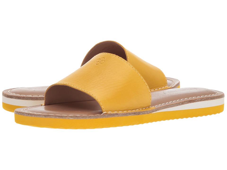 Image of Bernardo - Emily Slide (Golden Yellow) Women's Slide Shoes