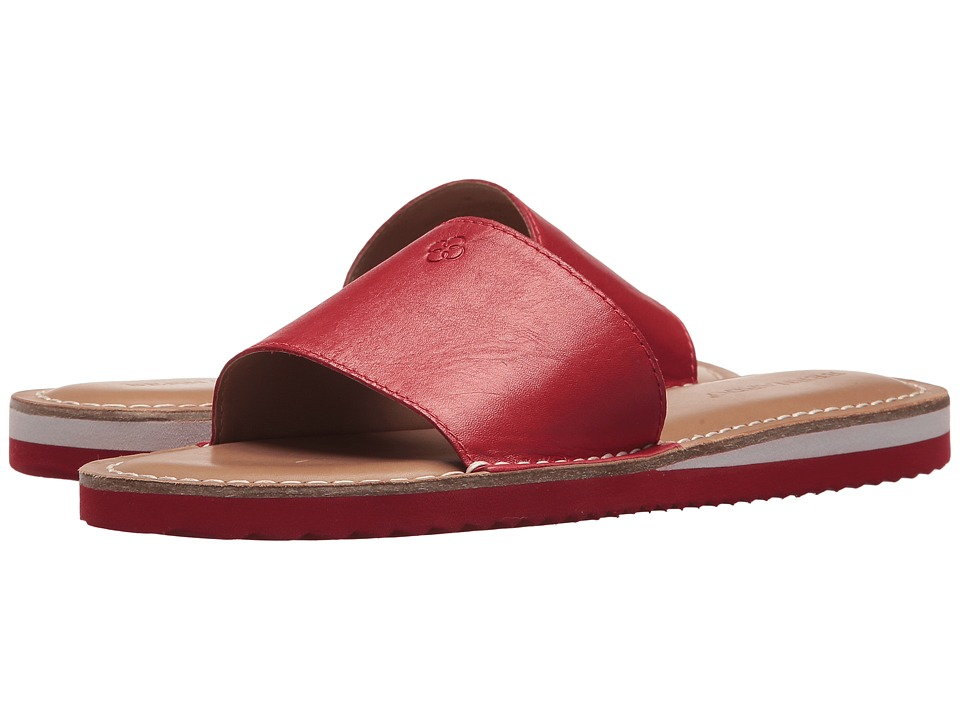 Bernardo - Emily Slide (Red) Womens Slide Shoes
