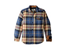 VISSLA Kids Cronkite II Quilted Shirt Jacket (Big Kids)