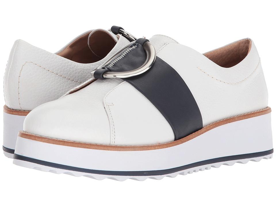 Bernardo Susan Sneaker (White/Navy) Women