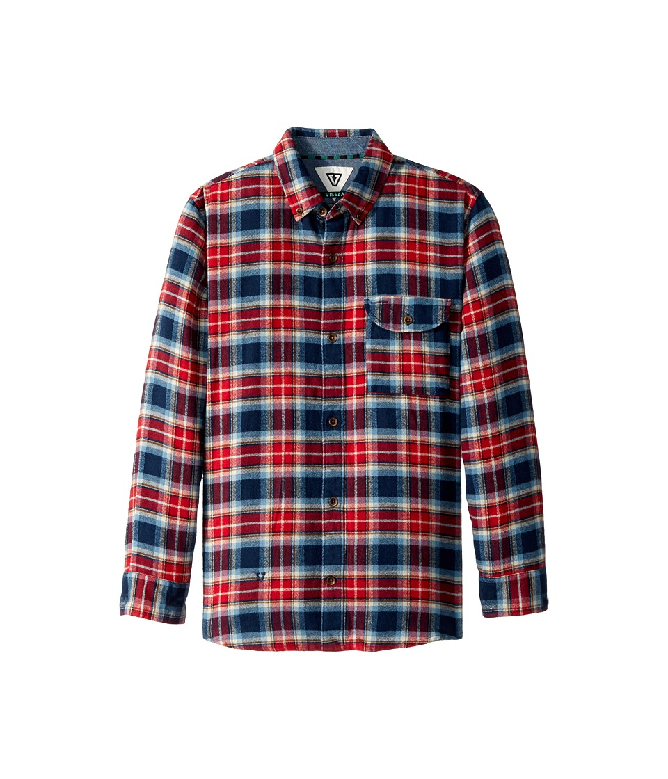 VISSLA Kids - Central Coast Long Sleeve Flannel