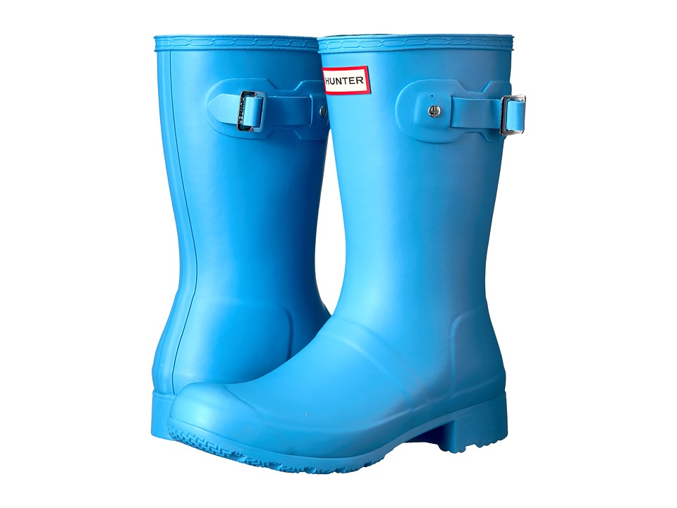 Hunter Original Tour Short Rain Boots (Forget Me Not) Women