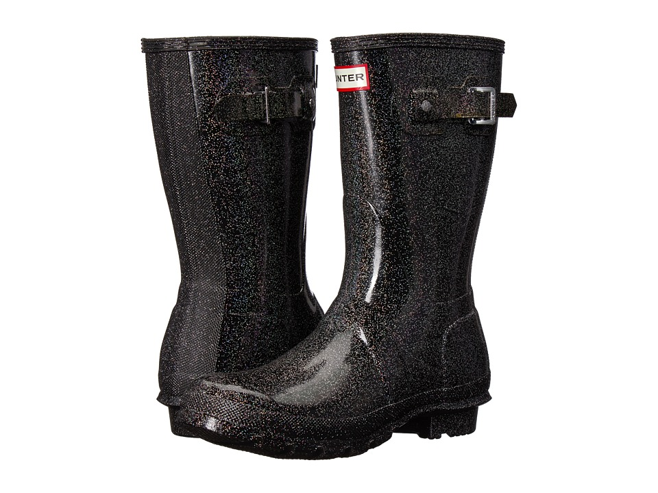 Hunter Original Starcloud Short Rain Boots (Black Multi) Women