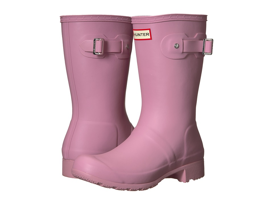 Hunter Original Tour Short Rain Boots (Blossom) Women
