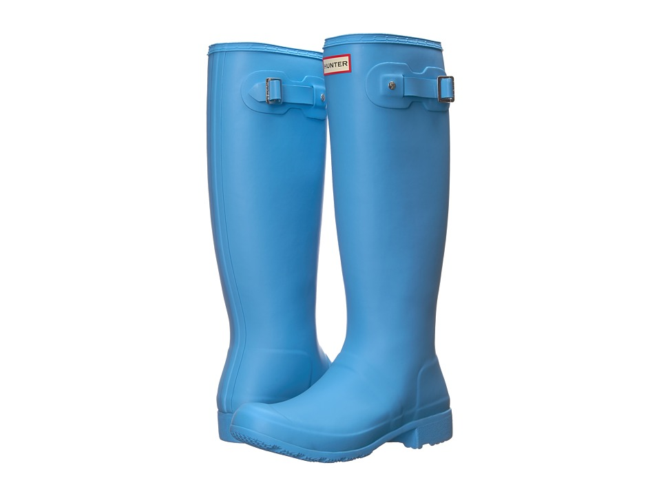 Hunter Original Tour Rain Boots (Forget Me Not) Women