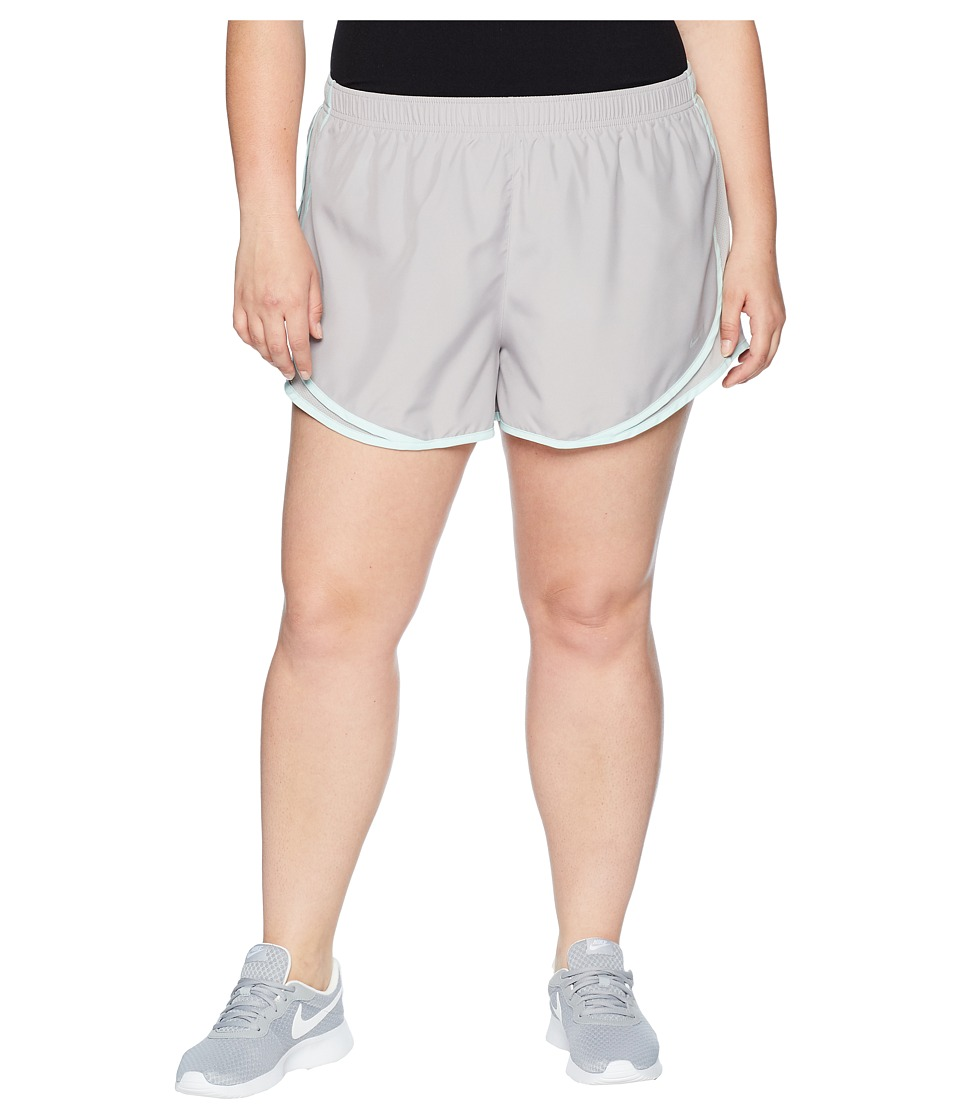 Nike Dry Tempo 3 Running Short (Size 1X-3X) (Atmosphere Grey/Wolf Grey) Women