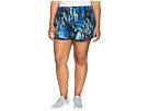 Nike Dry Tempo Print Short (Size 1X-3)