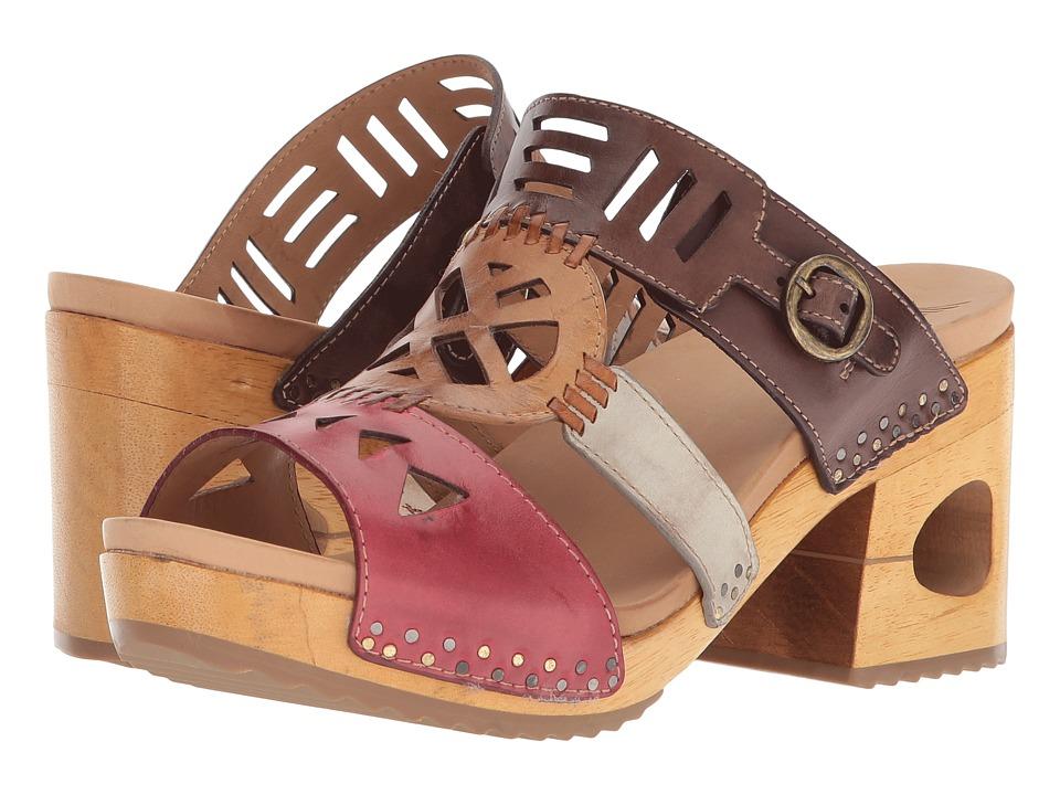 Dansko Oralee (Multi Waxy Full Grain) Women's Clog/Mule Shoes