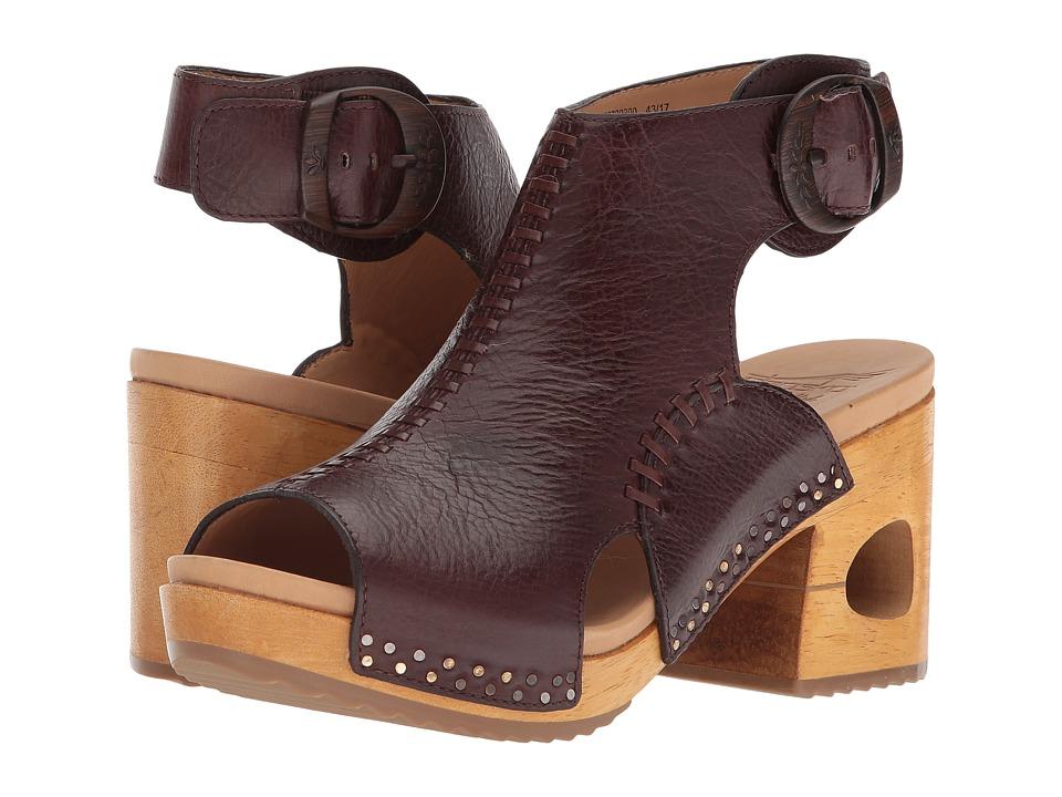 Dansko Octavia (Brown Tumbled Calf) Women's Clog/Mule Shoes