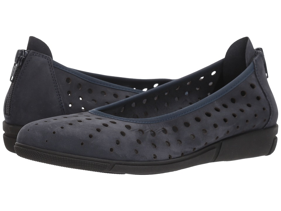 Sesto Meucci - Diva (Midnight Nabuk) Womens Slip on  Shoes