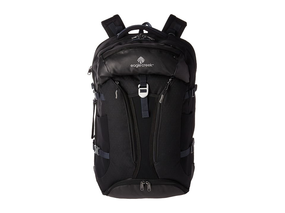 Eagle Creek - Global Companion Travel Packs 40L (Black) Backpack Bags