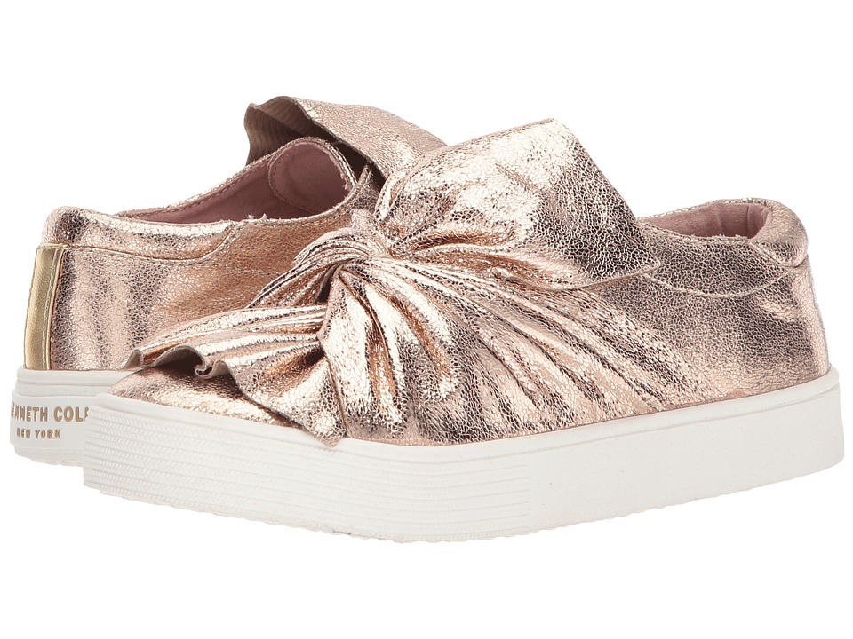 Kenneth Cole Reaction Kids - Kam Twist (Little Kid/Big Kid) (Champagne) Girls Shoes
