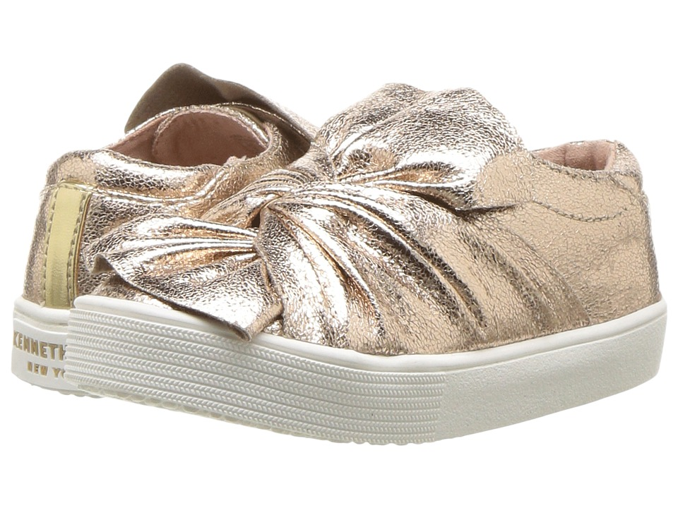 Kenneth Cole Reaction Kids - Kam Twist (Toddler) (Champagne) Girls Shoes