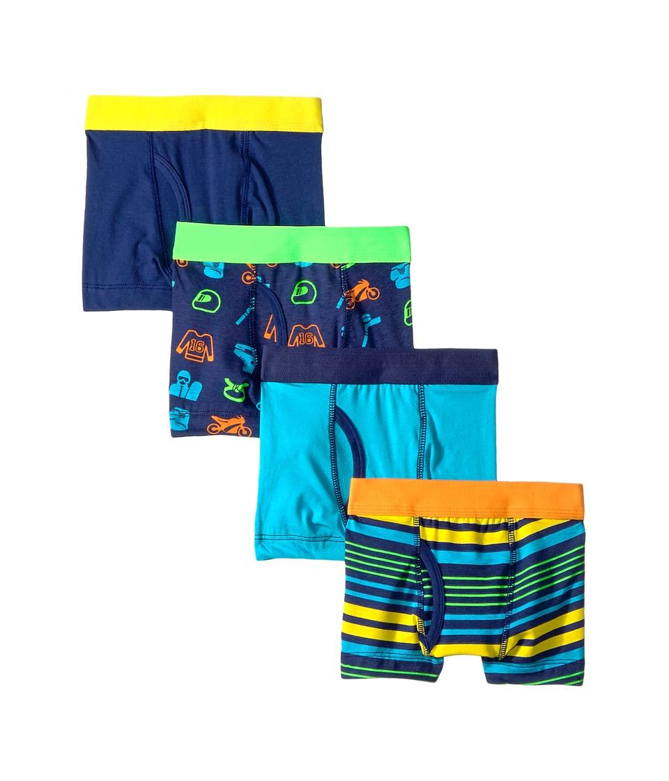Trimfit - 4-Pack Sports Cotton Tagless Boxer Briefs