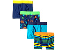 Trimfit 4-Pack Sports Cotton Tagless Boxer Briefs (Toddler/Little Kids/Big Kids)