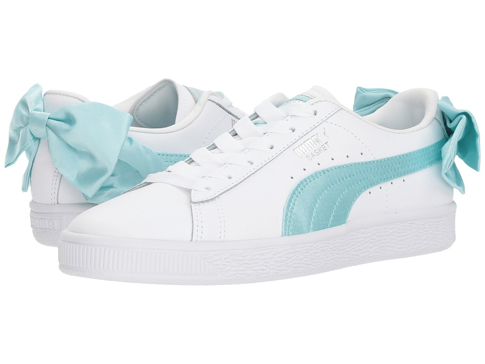 Puma Kids Basket Bow Jr (Big Kid) (Island Paradise) Girls Shoes