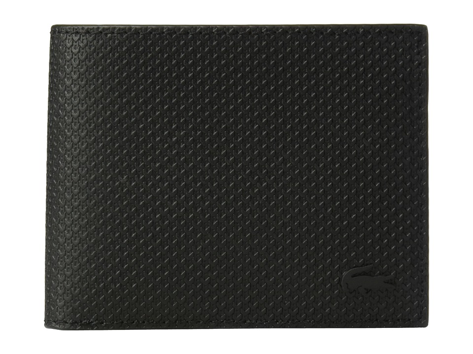 Lacoste - Chantaco Slim Billfold (Black) Bill-fold Wallet