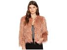 1.STATE Cropped Faux Fur Jacket