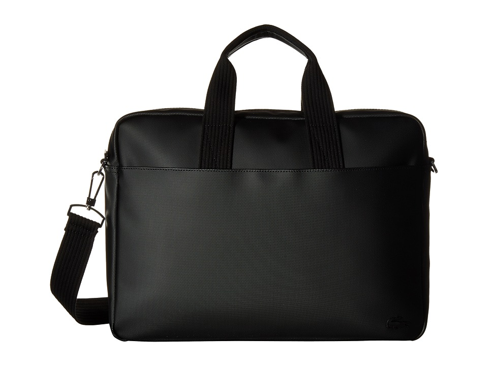 Lacoste - Classic Computer Bag (Black) Computer Bags