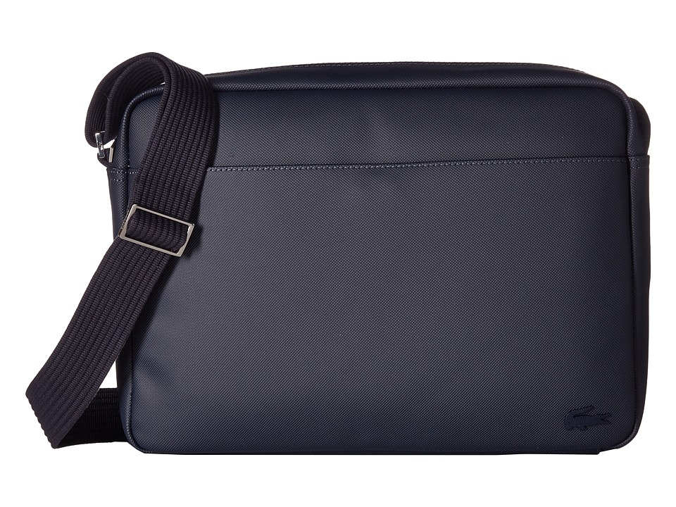 Lacoste - Classic Airline Bag (Peacoat) Messenger Bags