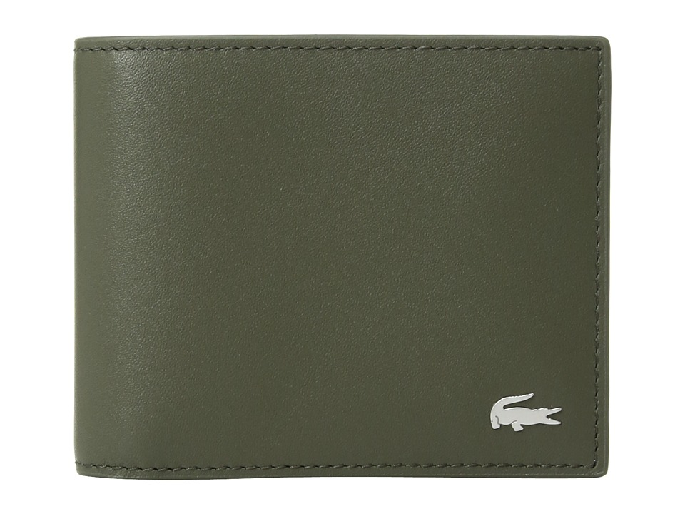 Lacoste - FG Small Billfold (Grape Leaf) Bill-fold Wallet