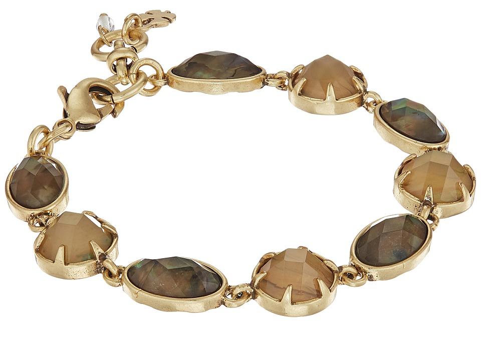 Lucky Brand Abalone Link Bracelet (Gold) Bracelet