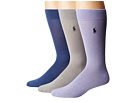 Polo Ralph Lauren Supersoft Flat Knit 3-Pack Socks
