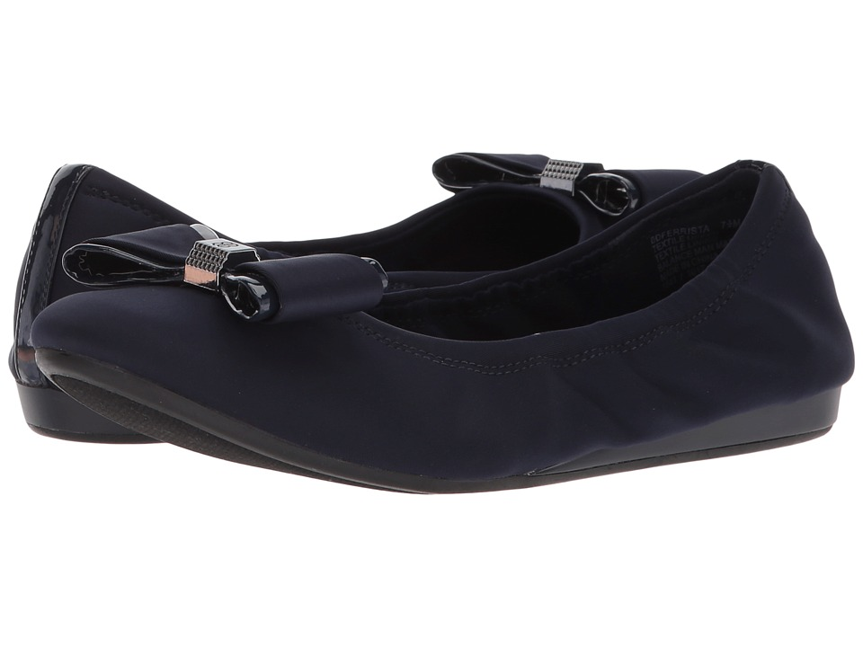 Bandolino Ferrista (Navy Lycra/Sleek Patent PU) Women