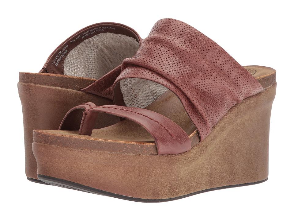 OTBT Tailgate (Sangria) Sandals