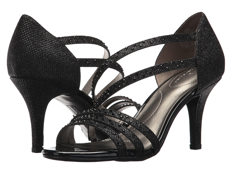 Bandolino Meggie (Black Glamour Material) Women