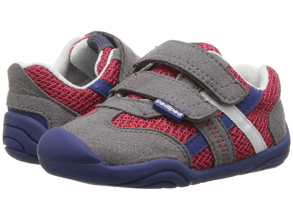 pediped - Gehrig Grip n Go (Toddler) (Union Jack) Boys Shoes
