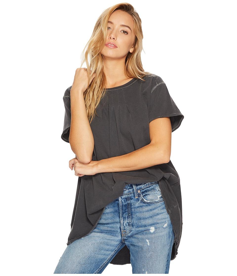 Free People Little Gem T-Shirt (Black) Women