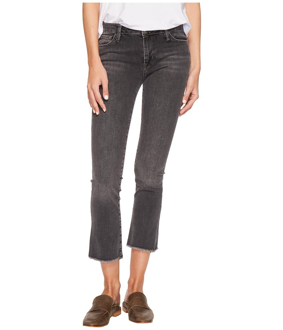 Free People Straight Crop Jeans (Black) Women