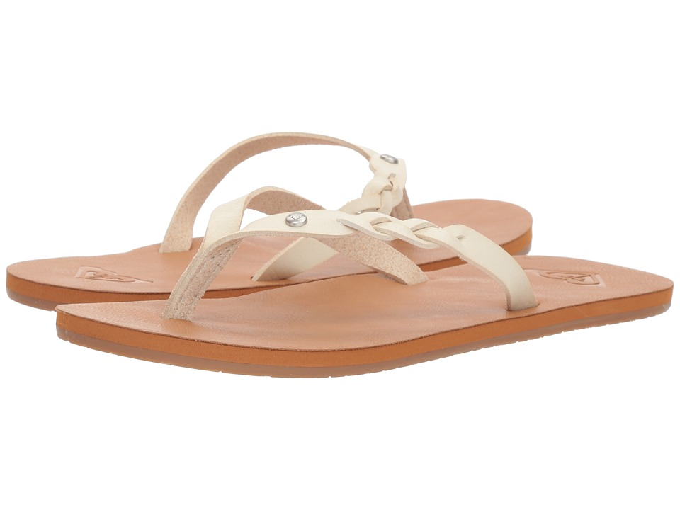 Roxy - Liza II (Cream) Women's Sandals