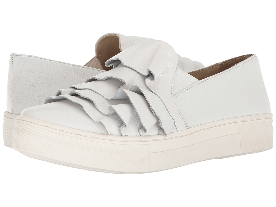 Seychelles Quake (White Leather) Slip-On Shoes