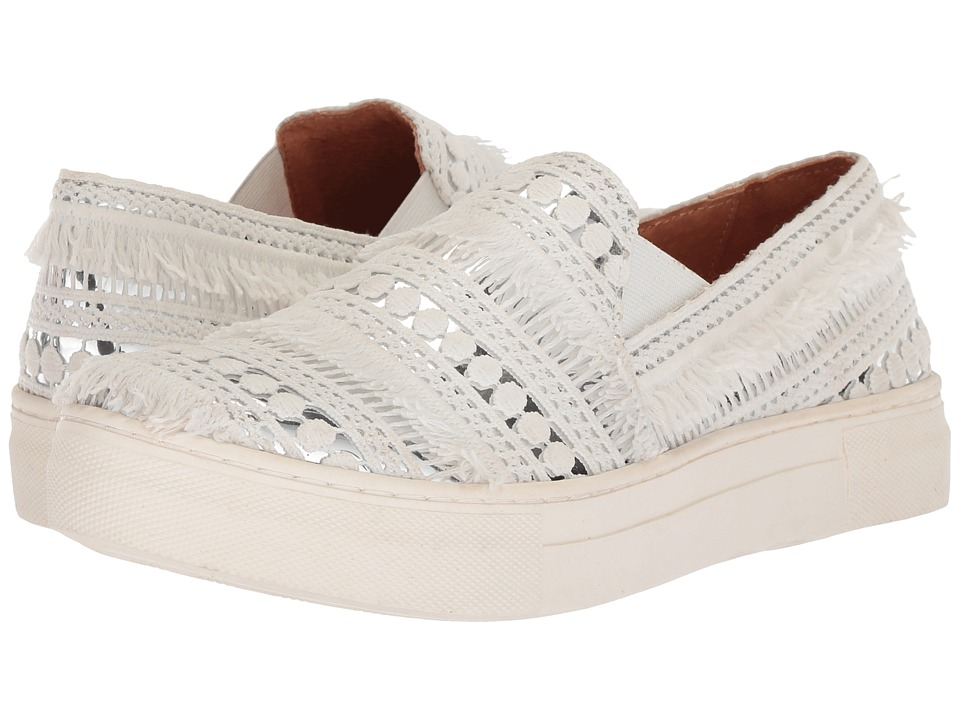 Seychelles Varsity Letter (Silver/Fabric Metallic) Slip-On Shoes