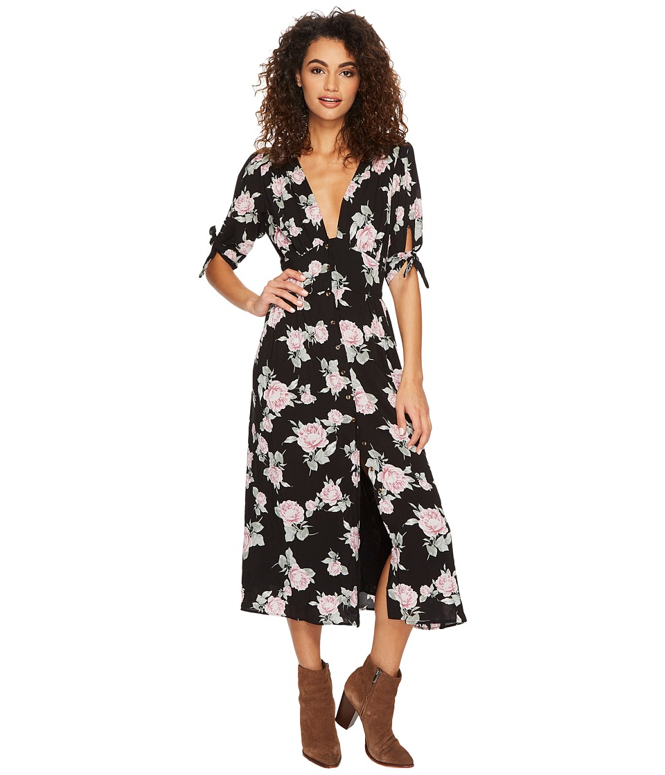 Free People Love of my Life Printed (Black Combo) Women