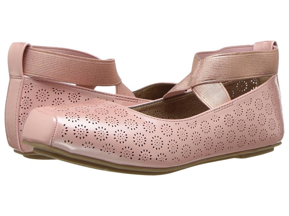 Jessica Simpson Kids - Madora (Little Kid/Big Kid) (Blush Patent) Girls Shoes