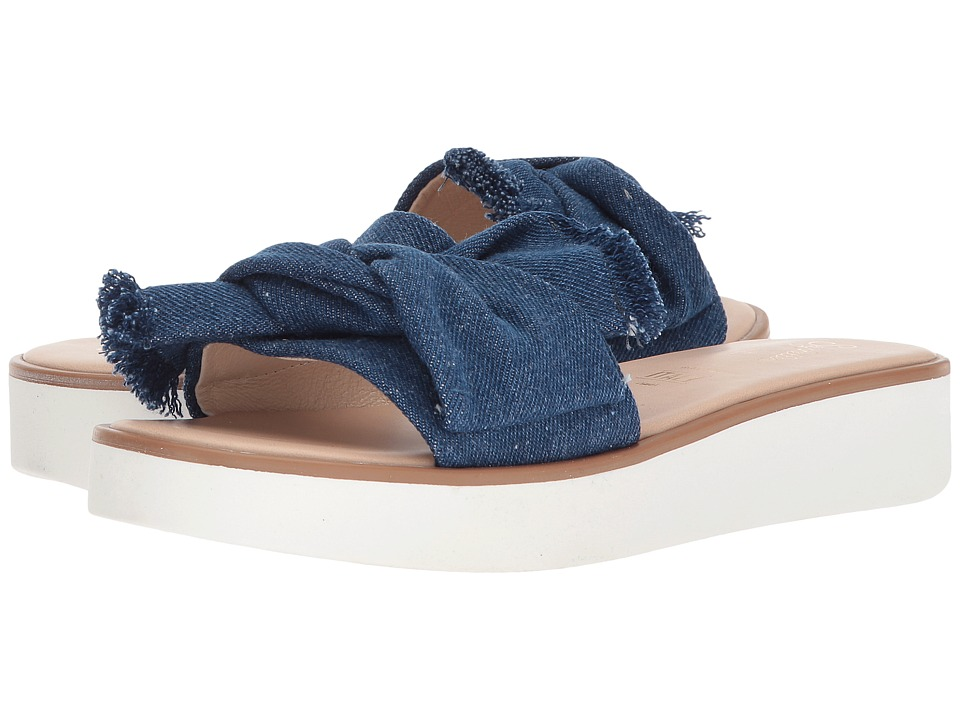 Seychelles - Coast II (Frayed Denim) Women's Sandals