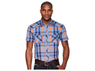 Rock and Roll Cowboy Rock and Roll Cowboy Plaid Short Sleeve Snap B1S5724