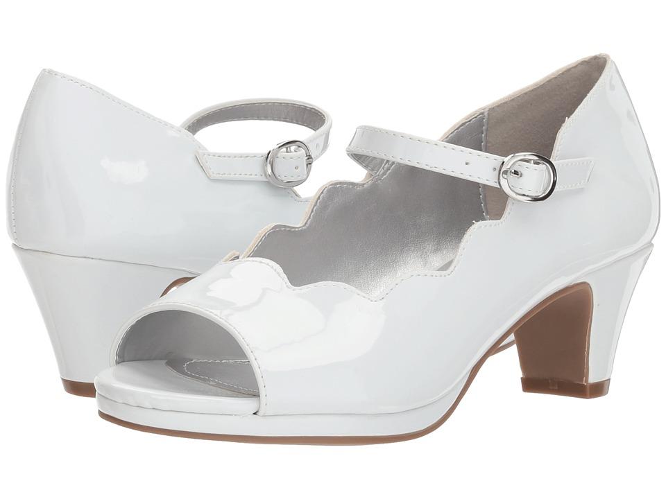 Jessica Simpson Kids - Becca (Little Kid/Big Kid) (White Patent) Girls Shoes