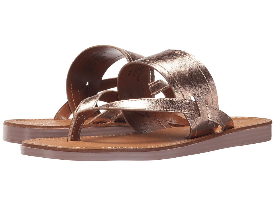 Seychelles Mosaic (Rose Gold Leather) Sandals