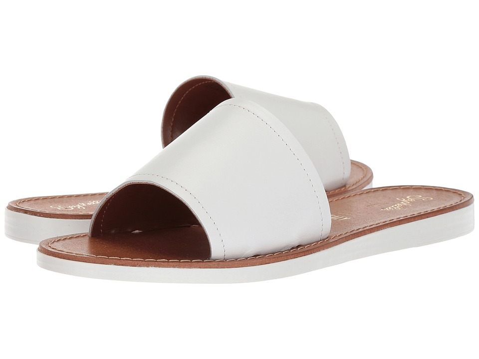 Seychelles Leisure (White Leather) Sandals