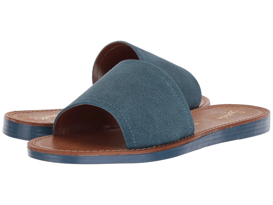 Seychelles Leisure (Blue Suede) Sandals
