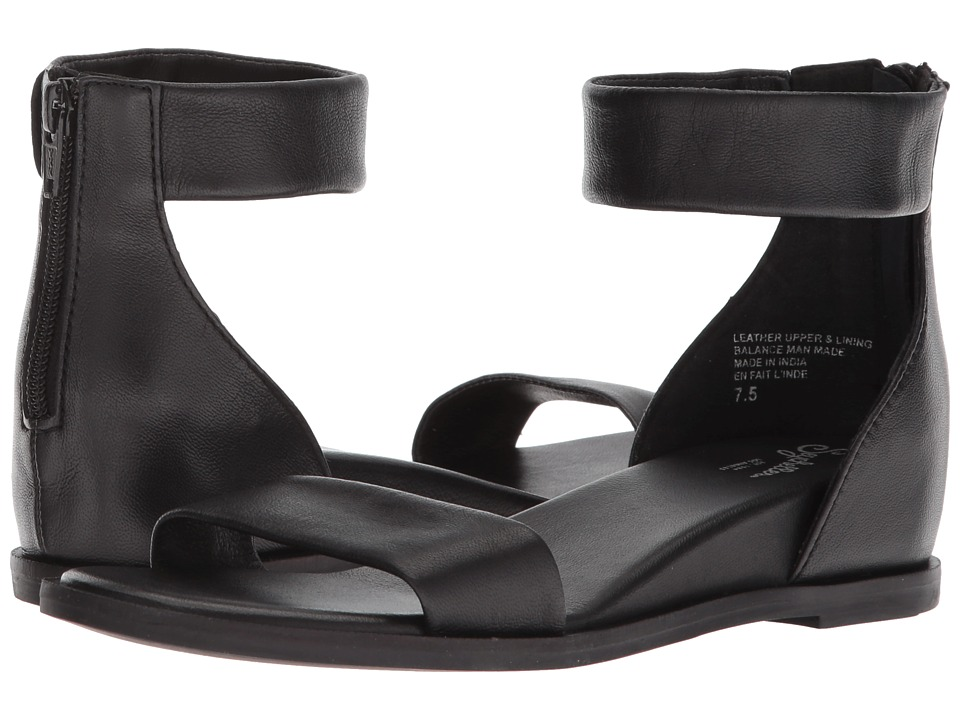 Seychelles - Lofty (Black Leather) Women's Sandals