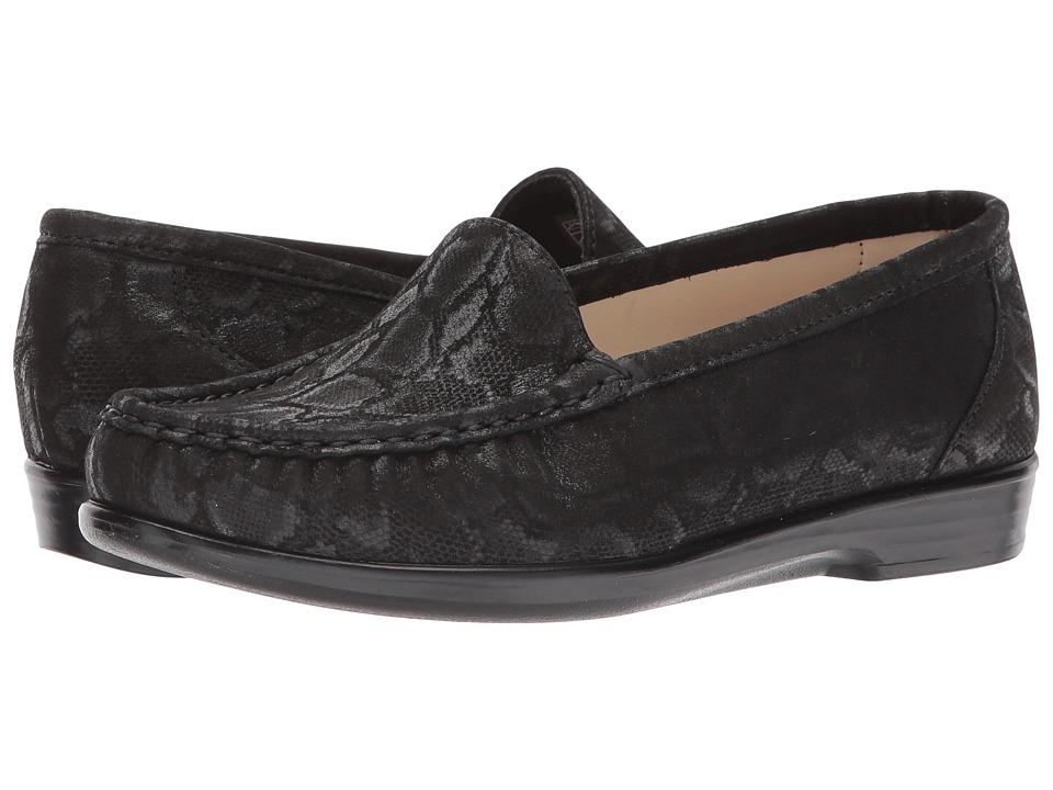 SAS Simplify (Nero Snake) Women's Shoes