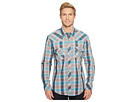 Rock and Roll Cowboy Rock and Roll Cowboy Plaid Long Sleeve Snap B2S5731