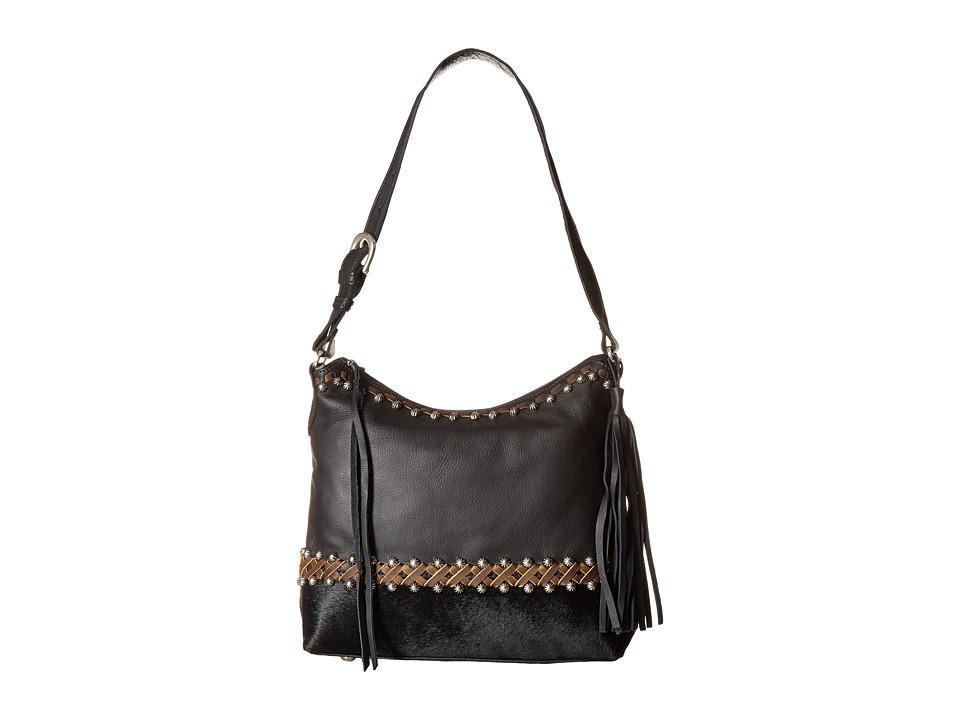American West - Wild Horses Zip Top Shoulder Bag
